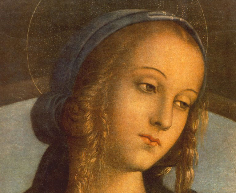 isaac of stella on Mary & the Church, both virgins, mothers, together one virgin & mother