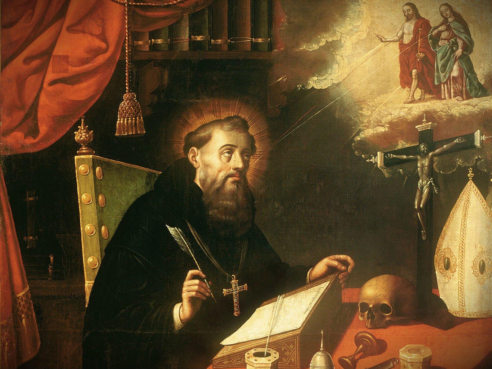Action & Contemplation, Peter & John – Augustine