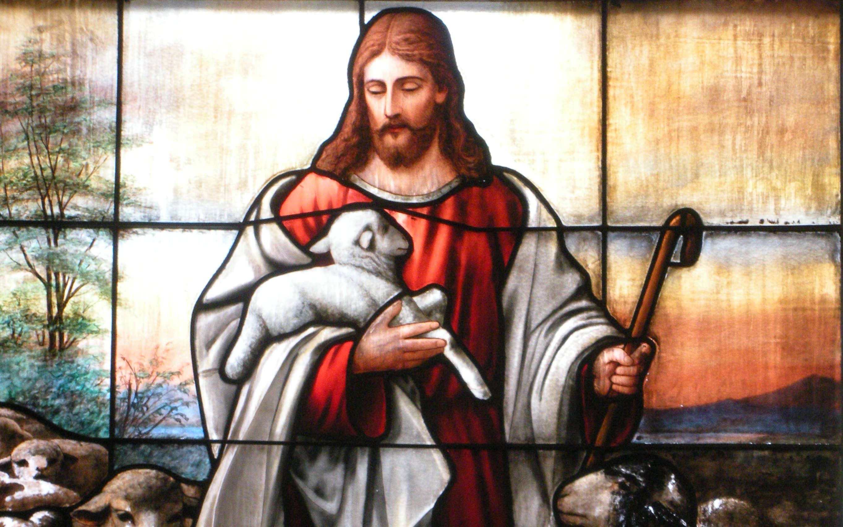 Shepherds like the Lord Asterius of Amasea Jesus Christ the Good Shepherd lent gently bring back lost stray sheep to flock