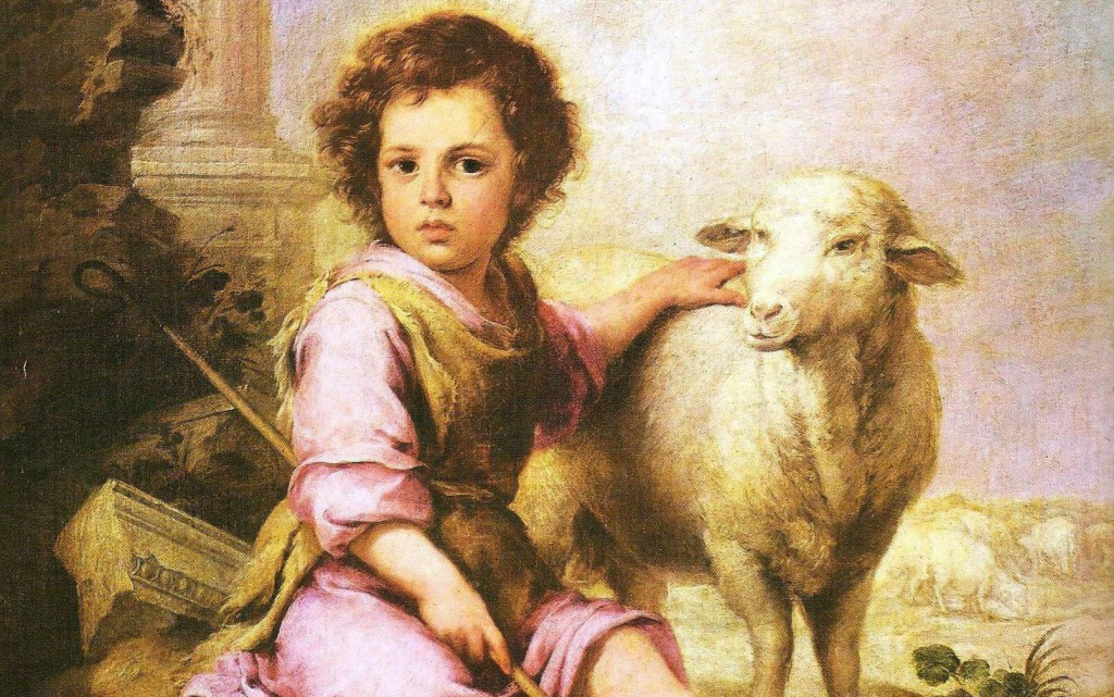 Church as Shepherd of Straying Sheep -1- Painting Christ the Shepherd
