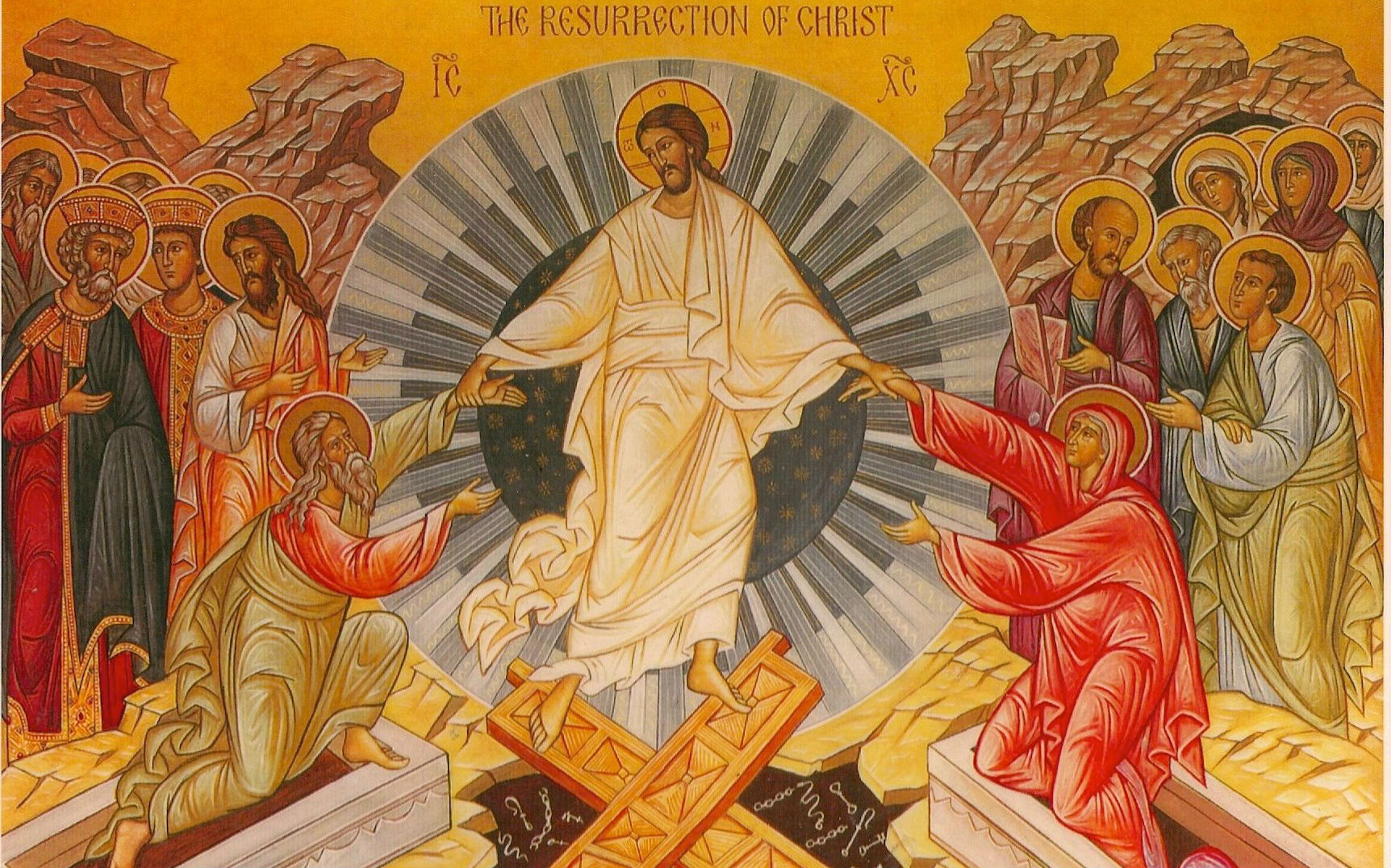 Easter Octave Baptism as New Creation in Christ resurrection on the eighth 8th day Augustine -2- Risen Christ