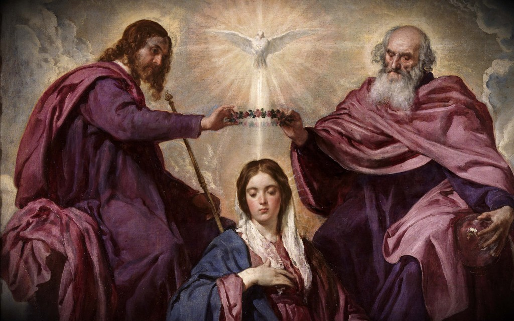 Feast of The Queenship of Mary - 1 - Coronation of Mary