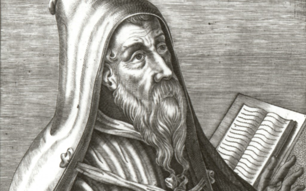 Grace before works --St. Augustine -1- Portrait Augustine