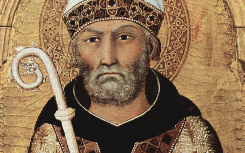 Hope Means Stretching our Hearts - Augustine -1- Portrait Augustine