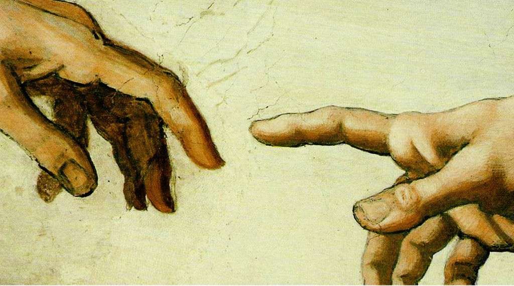 Jesus Christ the Mediator between God and Man-Augustine -1- God's Hand Reaching for Man