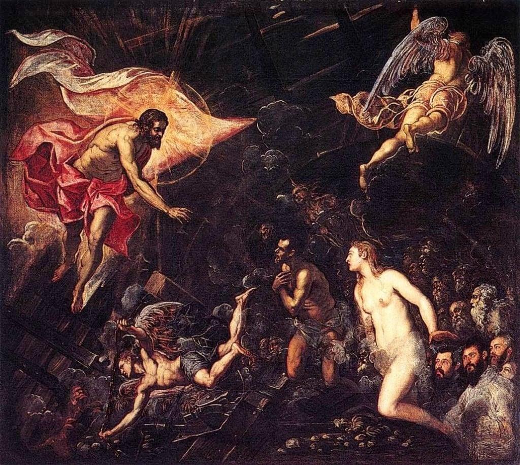 Jesus descends into hades harrowing hell holy saturday