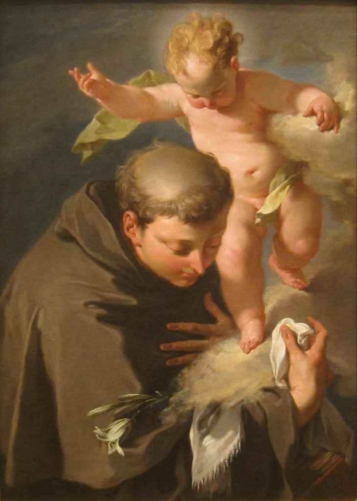 _Preach Always - St. Anthony of Padu - 1 - Anthony and Angel