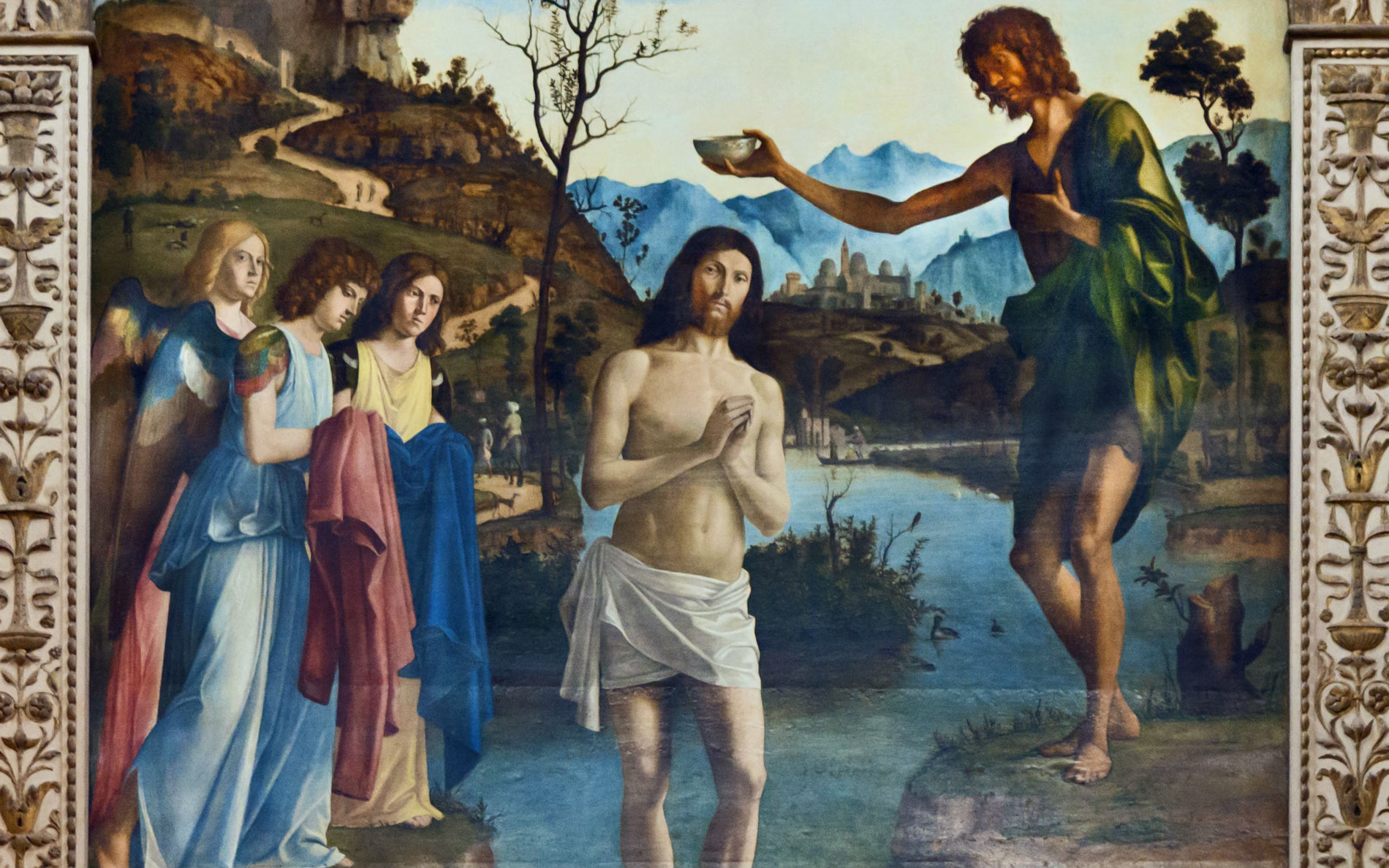 ambrose old testament prefigurations types baptism RCIA mystagogia