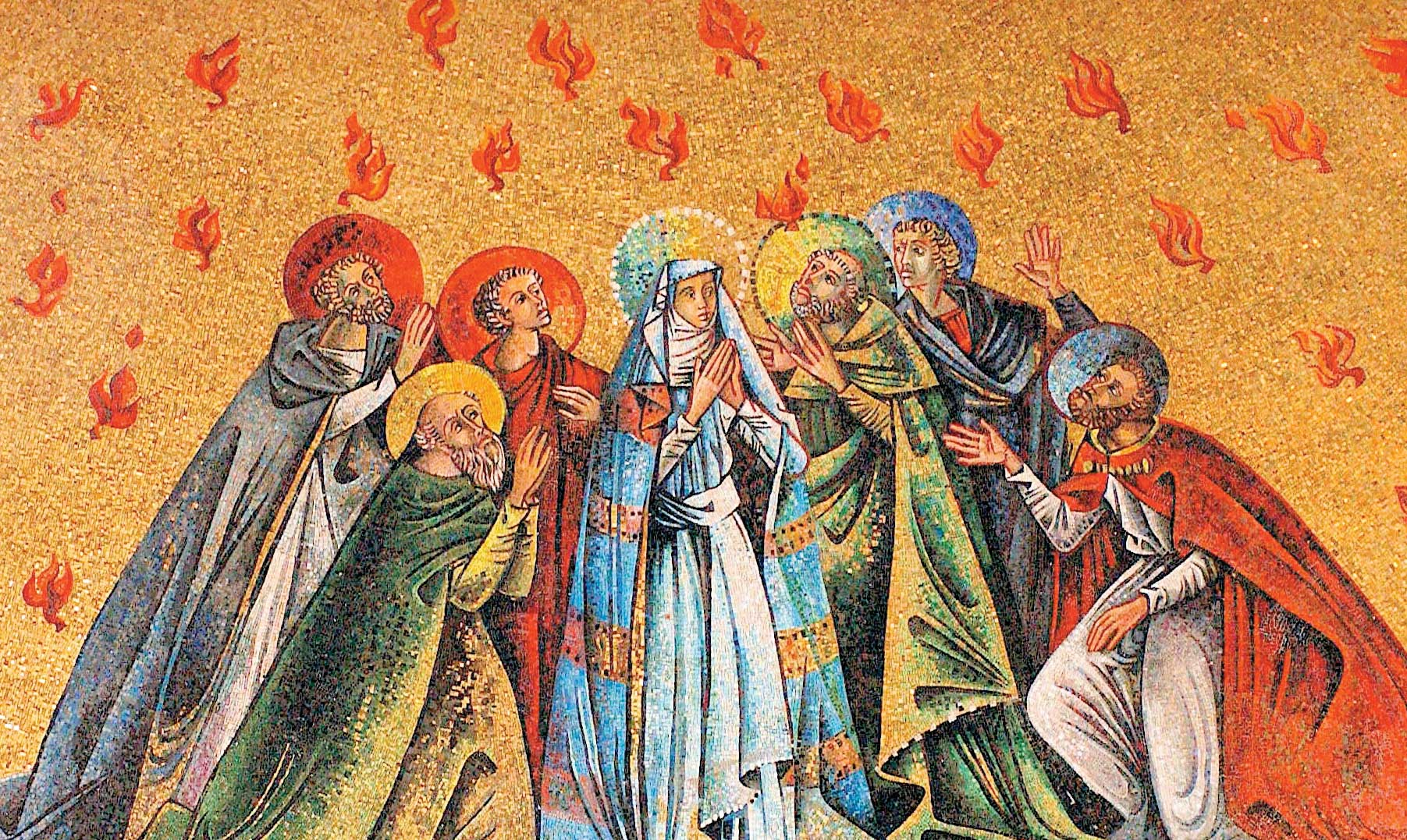Pentecost birthday of the Church seven 7 gifts & charisms of the Holy Spirit