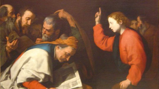 augustine Christ word of life made visible feast of St. John the Evangelist feast December 27 christmas incarnation