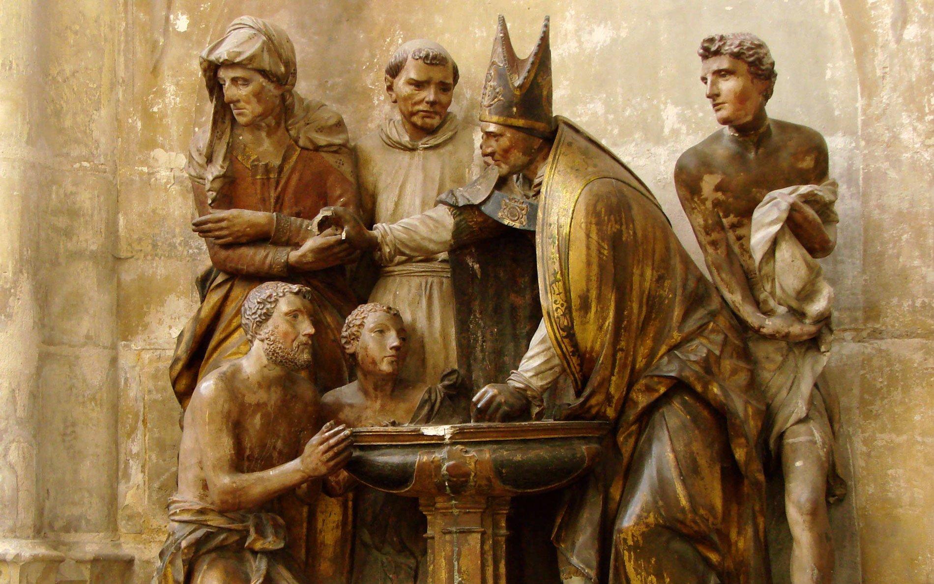 basil the great born again in water and spirit Jesus John 3 Nicodemus sacrament