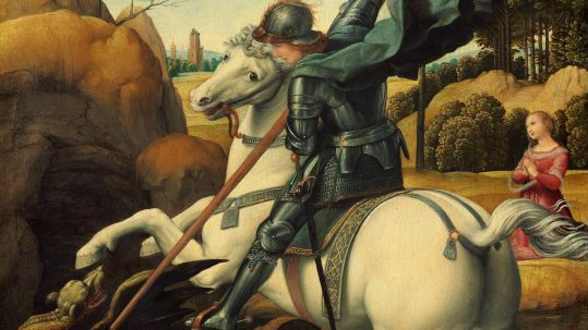 st. george dragon martyr april 23 Peter Damian