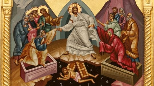 resurrection of Christ celebrating easter octave & season of joy eastertide 50 days