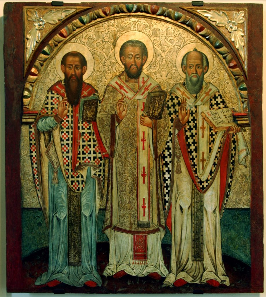 gregory of nazianzen - st basil and gregory two bodies one spirit