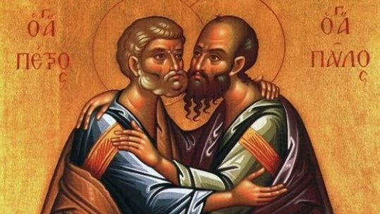 solemnity saints sts. peter paul apostles June 29 Augustine martyrs feast