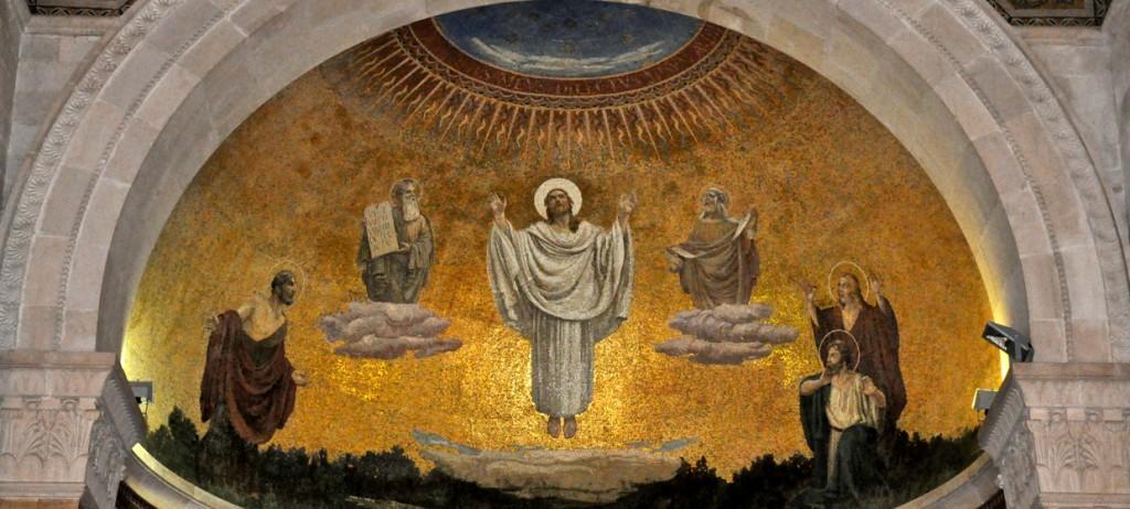transfiguration tabor calvary did God Abandon Jesus