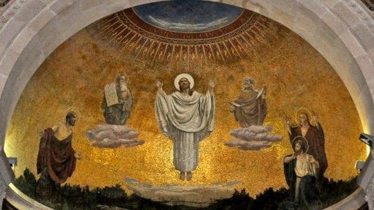 Transfiguration sacrifice isaac moriah abraham lent lenten