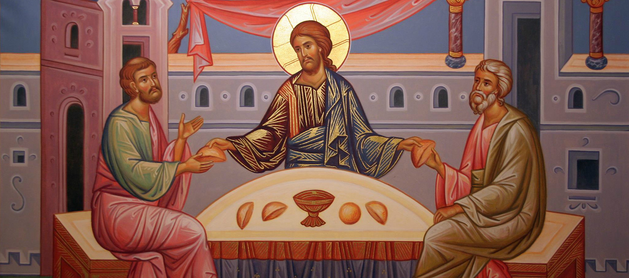 resurrection ascension road to emmaus leo the Great