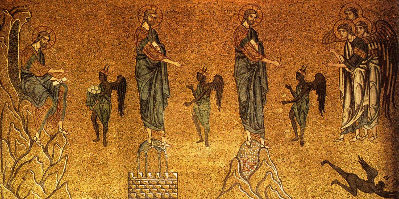 La Cuaresma - Porque tiene cuarenta días La tentación de Jesús en el desierto