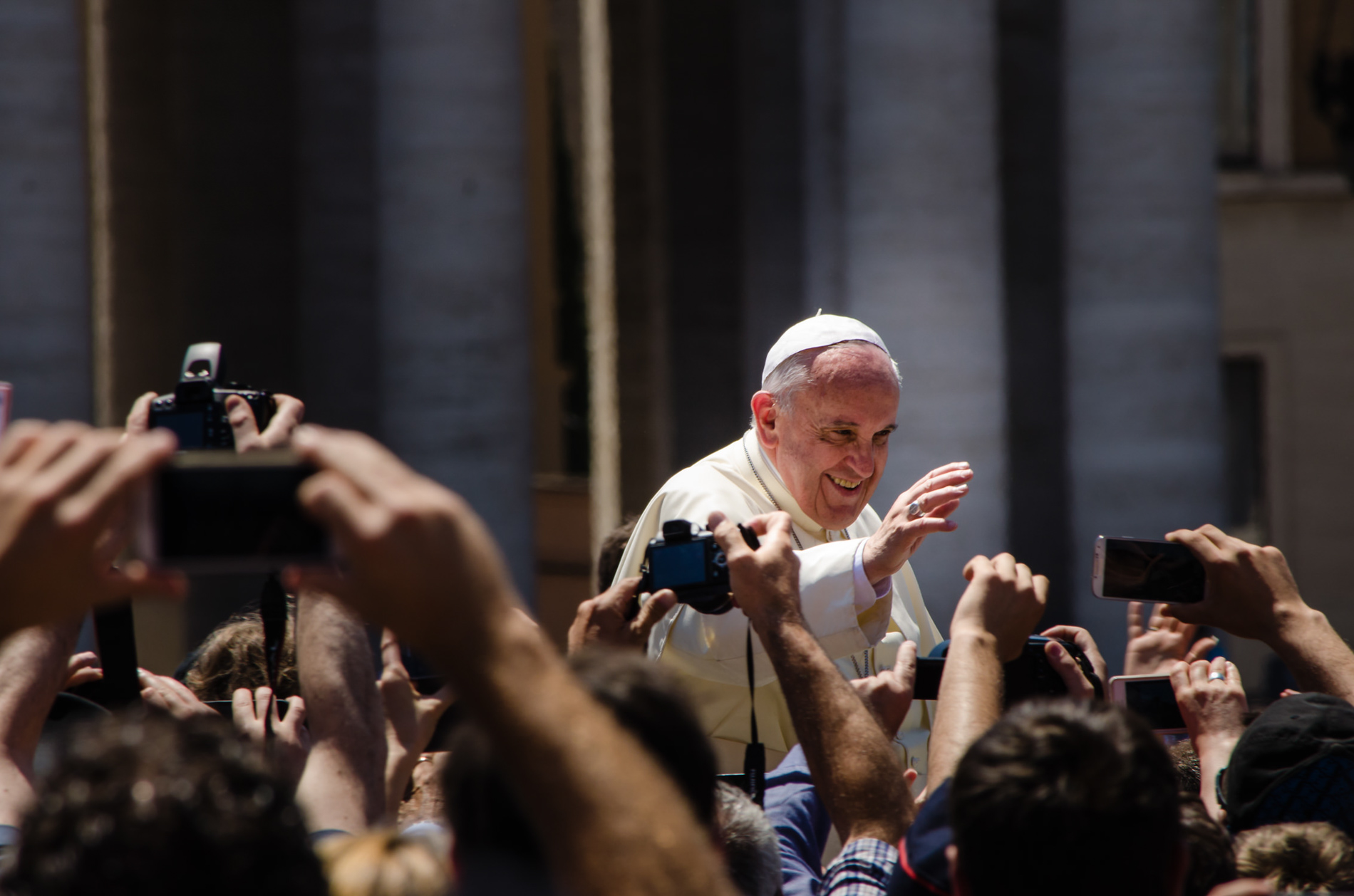 Pope Francis to Media