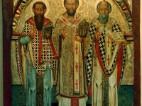 Sts Basil and Gregory, Two Bodies One Spirit