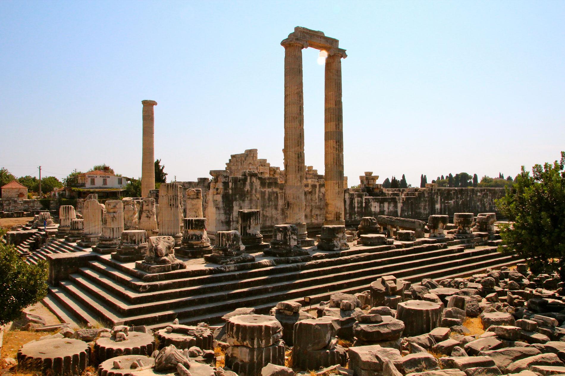 ruins roman forum rome ignatius of antioch - letter of ignatius to the magnesians