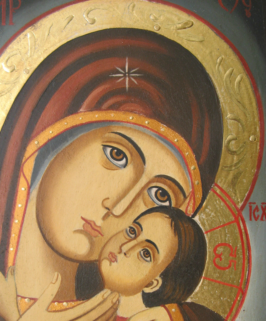 mary son of god virgin Isaac of stella