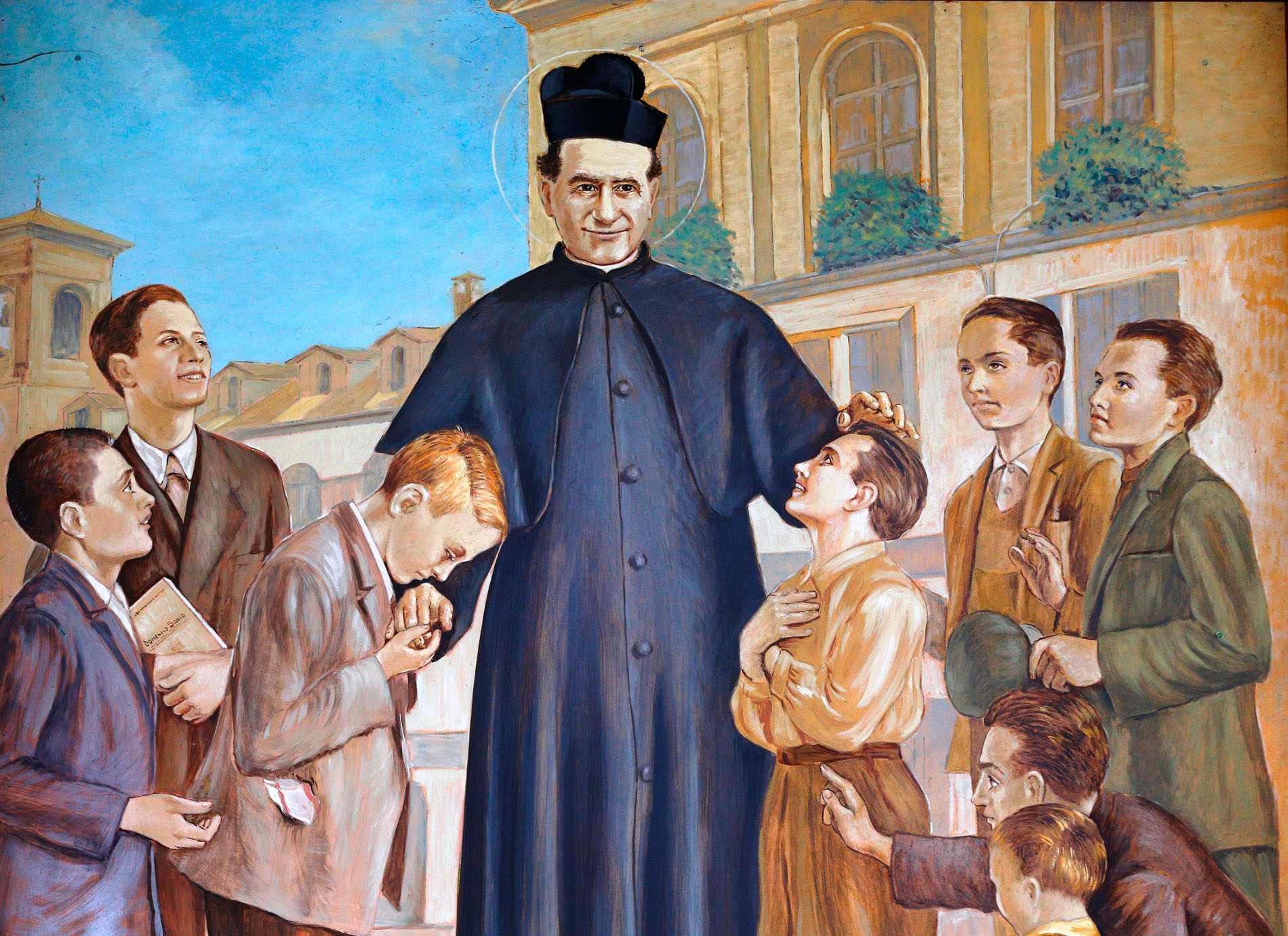 st. don john bosco january 31 youth ministry principles boys