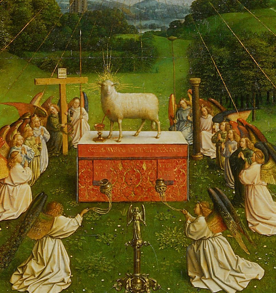 lamb slain melito passover mystery