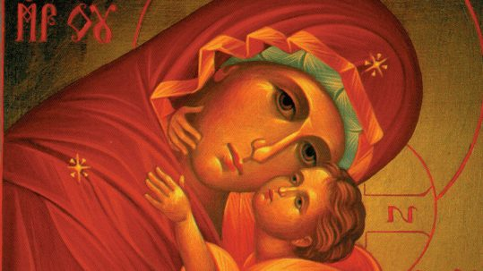 hunger for righteosness beatitudes leo mary mother of God January 1 theotokos