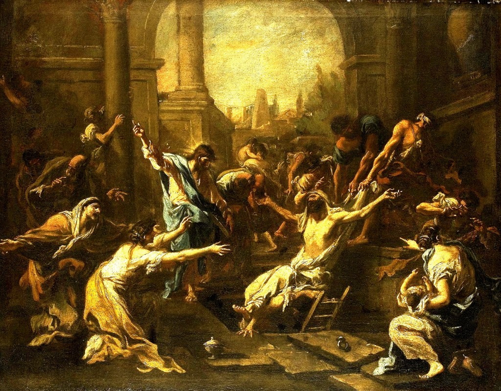 raising of lazarus Alessandro Magnasco