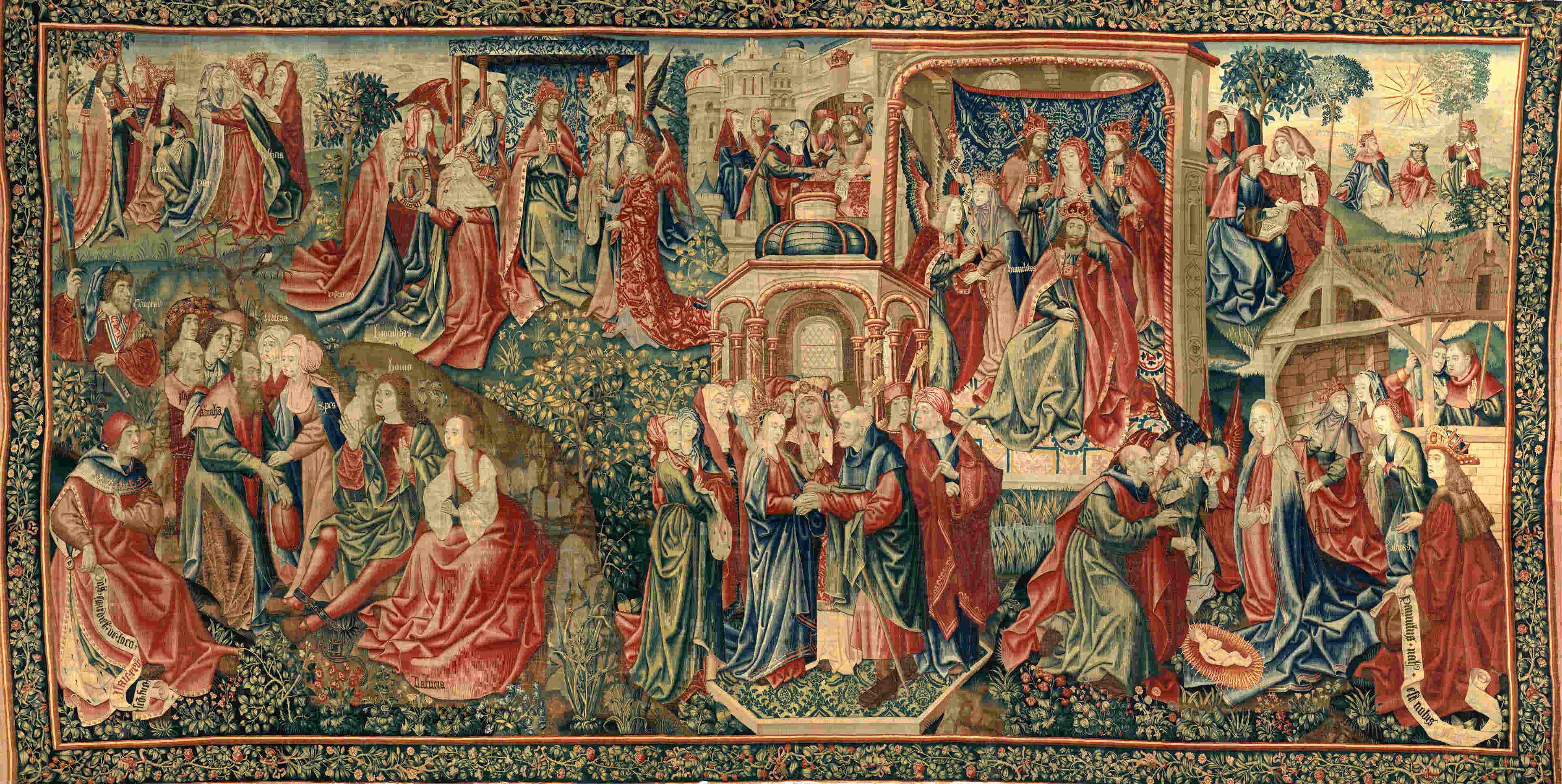 redemption tapestry met museum