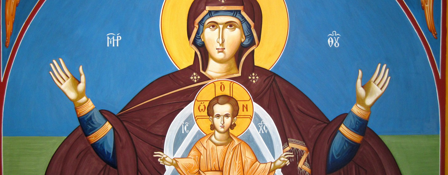 mary mother of God theotokos January 1 New Year's cyril council Ephesus human