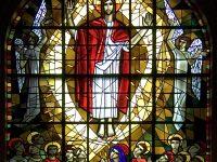 Jesús asciende al trono - la ascención