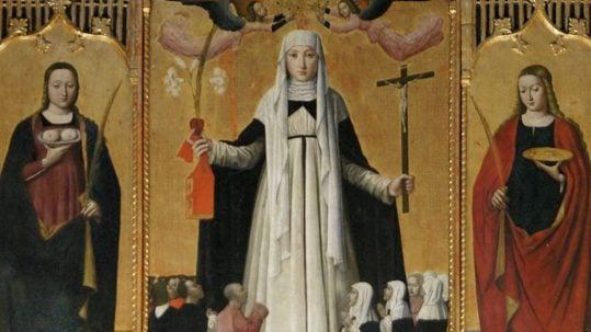 catherine of siena eternal trinity father deep mystery April 29