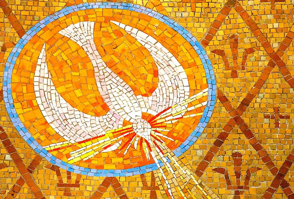 holy spirit mosaic