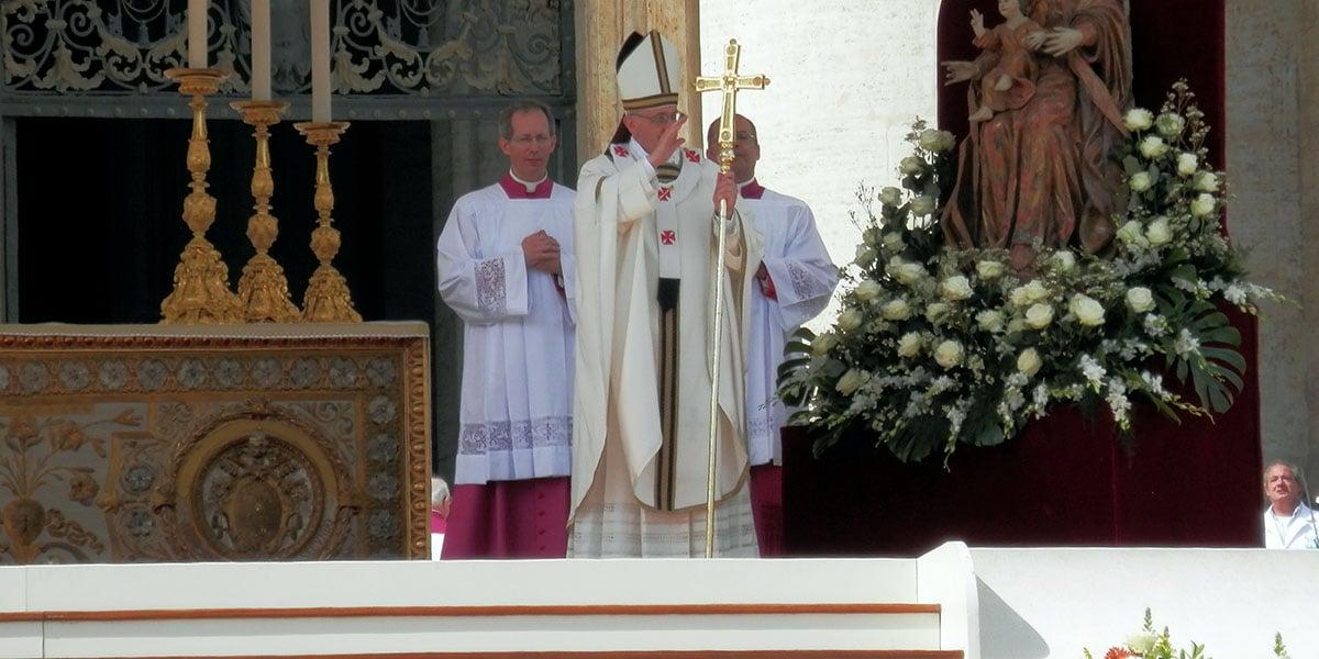 Saint joseph pope francis homily protector