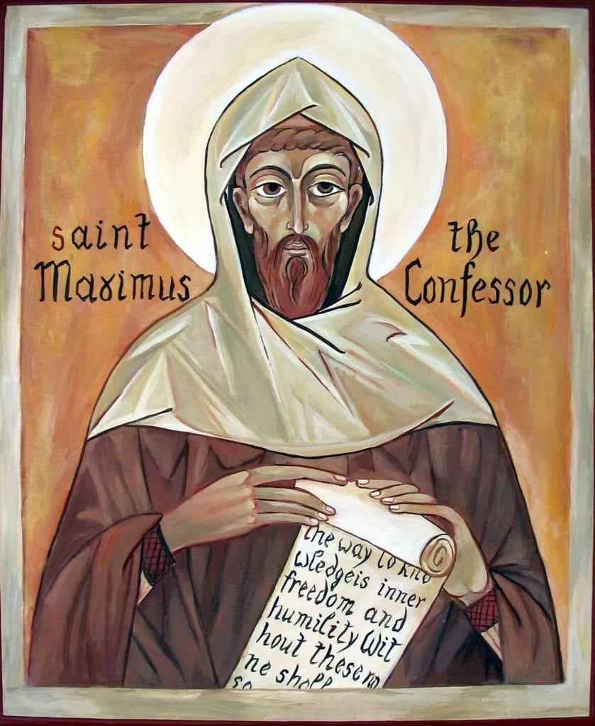 maximus the confessor charity agape caritas love mercy generosity