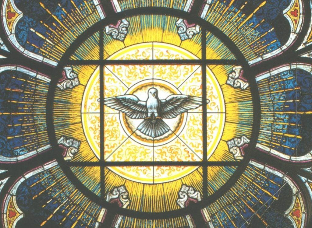 holy spirit iraneus rainfall dew pentecost