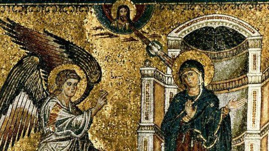 incarnation mystery 4th fourth sunday of advent annunciation virgin emmanuel king son of God
