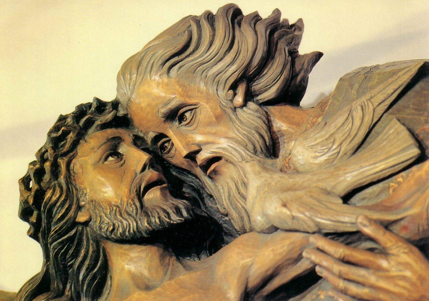 father God father's day fatherhood intimacy affection love suffering shelter padre Dio Festa del Papà paternità intimità affezione amore sofferenza protegge