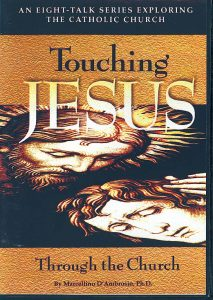 Touching Jesus front cover