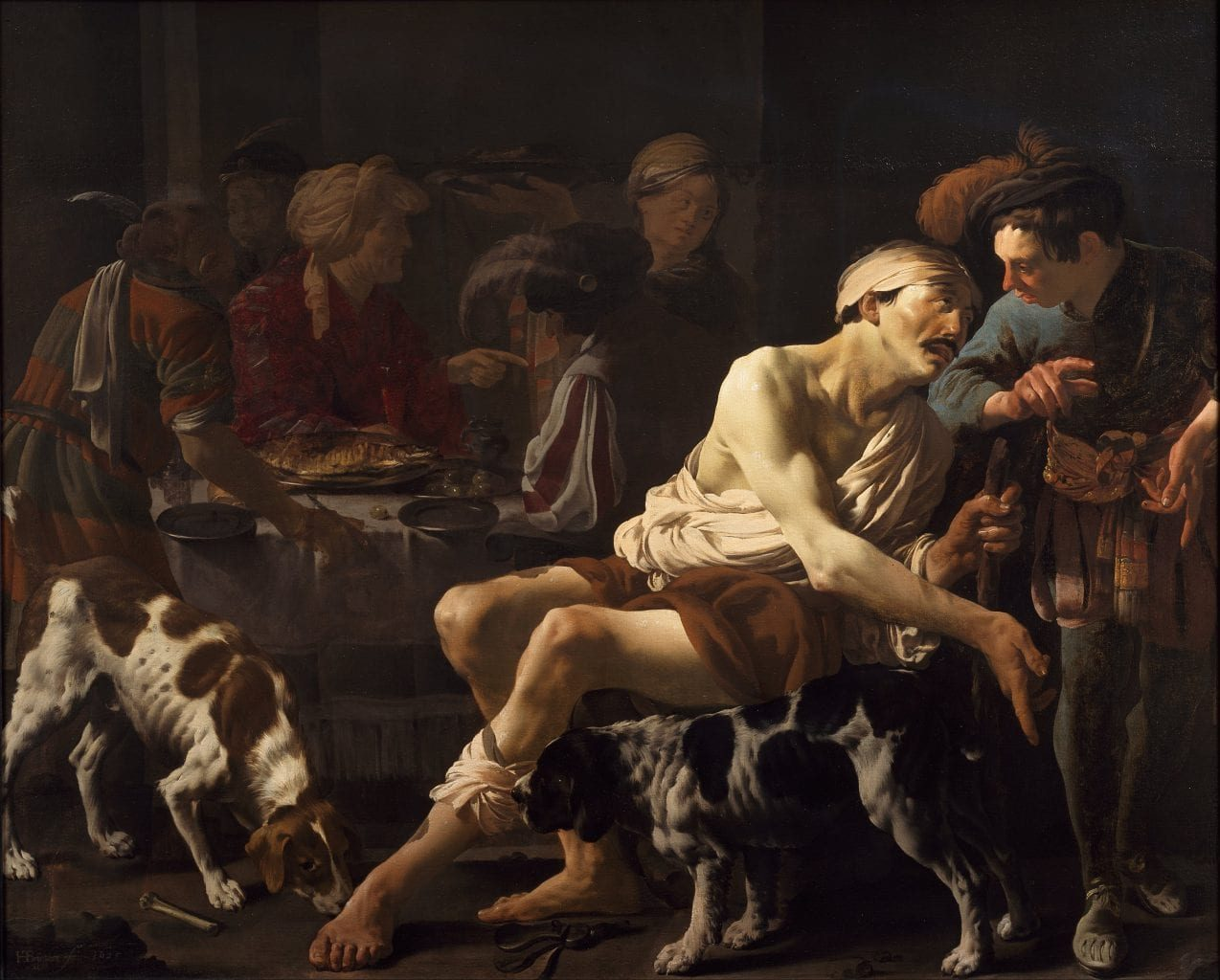 Dives, the Rich Man and Lazarus, the Beggar - Dr. Marcellino D'Ambrosio - Rich man and Lazarus