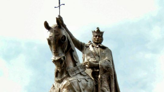 St. Louis king of france August 25