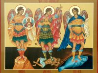 Archangels Michael, Gabriel & Raphael - Gregory the Great