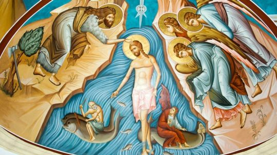 hippolytus - baptism in the waters of immortality epiphany Lord Jesus facebook