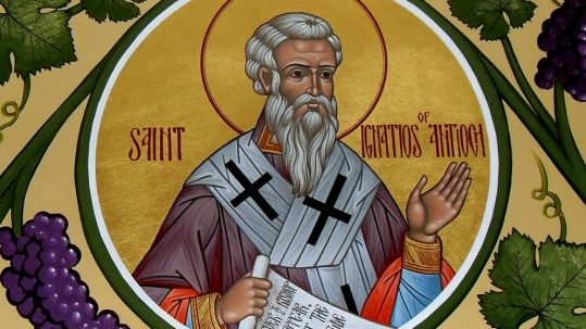ignatius divinity humanity catholic church martyr apostolic father of the church