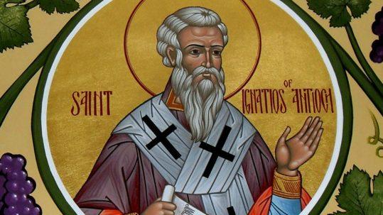 ignatius divinity humanity catholic church martyr apostolic father of the church facebook