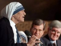 Mother Teresa's Letter to the US Supreme Court on Abortion and Roe v. Wade