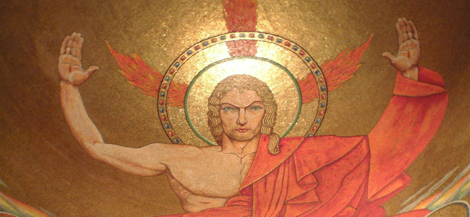 resurrected christ mosaic-national-shrine-of-the-immacualte-conception